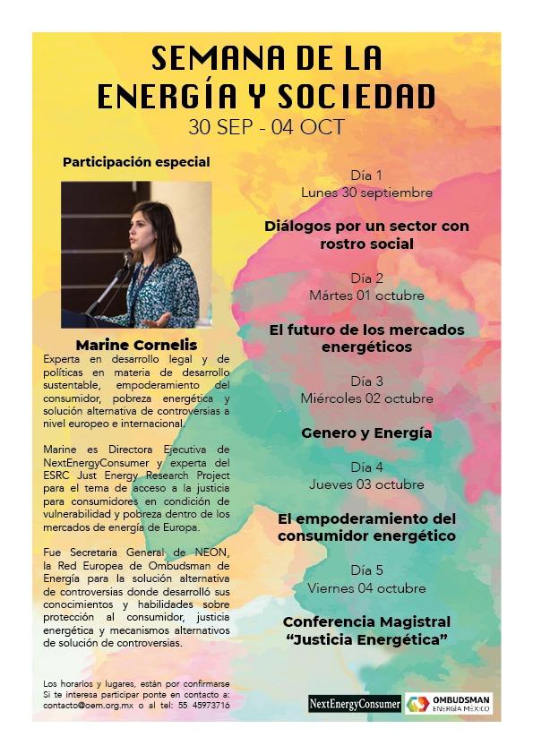Semana Energia y sociedad
